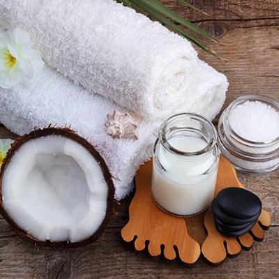 Kokosų aliejus SPA procedūroms