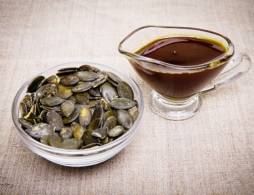 Moliūgų sėklos ir aliejus