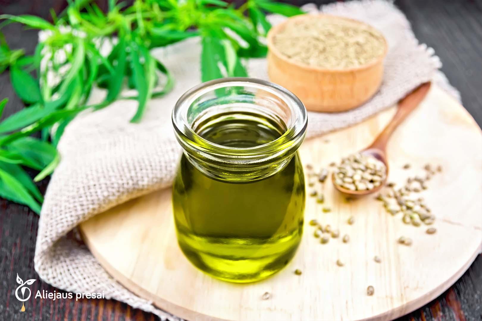 Kanapių sėklų aliejus jūsų grožiui ir gerai savijautai