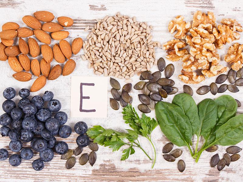 Migdolų aliejus - Vitamino E šaltinis